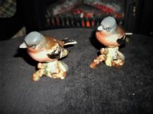 2 X COLLECTABLE BESWICK FIGURINES 991 CHAFFINCH 1 = GREAT 1 = TLC